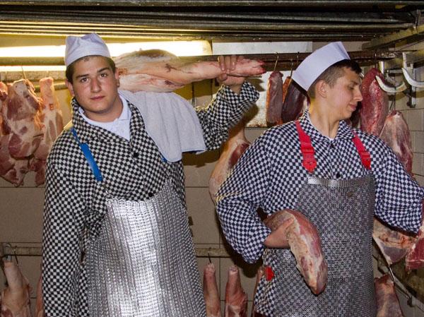 Potravinářská výroba - řeznické práce